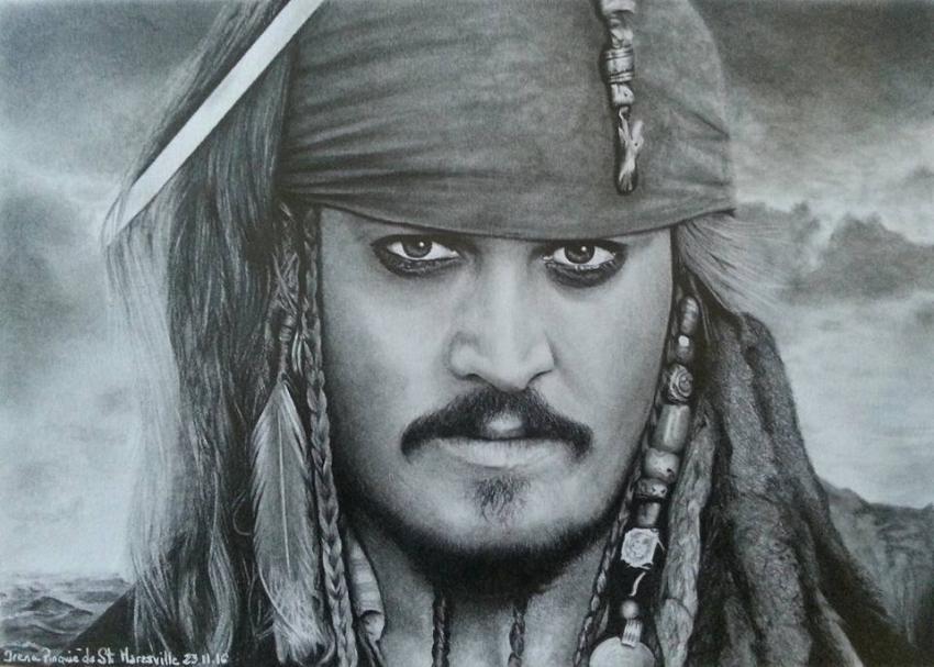 Johnny Depp by irena1976